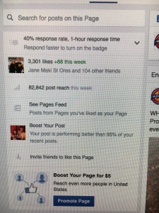 Screenshot of the high post reach for the Rosemount High School Marching Band