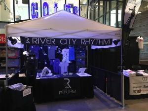 Photo of the 2017 RCR Merchandise Booth
