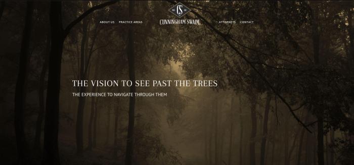 image of Cunningham Swaim's previous site